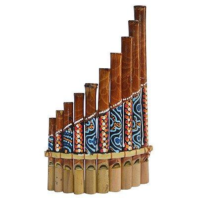 Flauta de Pã Tribal | Bali