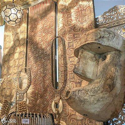 Máscara Javanesa Madeira 138cm | Antik
