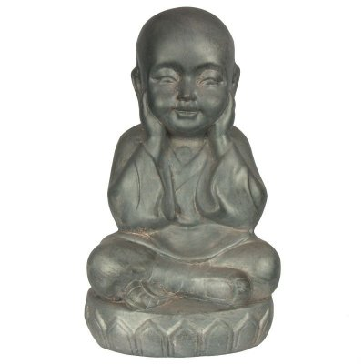 Monge Budista 35cm | Fibrocimento