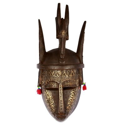 Máscara Bambara em Madeira 48cm