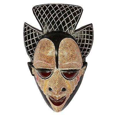 Máscara Punu Africana 40cm - Gabão