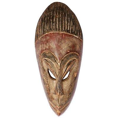 Máscara Africana em Madeira 38cm