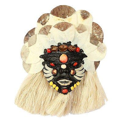 Máscara Decorativa 23cm - Amazonas