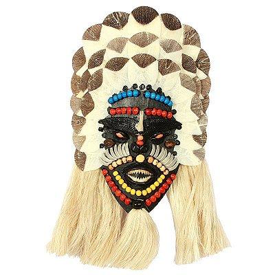 Máscara Decorativa 41cm - Amazonas