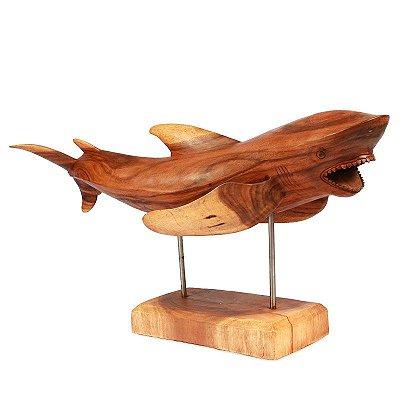 Tubarão em Madeira 106cm | Bali