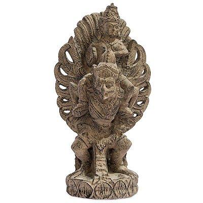Escultura Garuda em Cimento 36cm |Bali