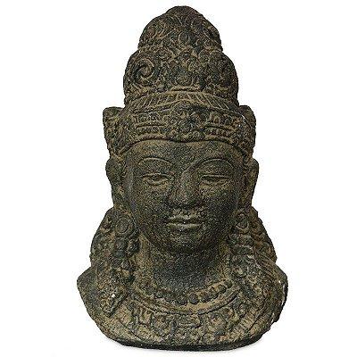 Busto de Shiva em Cimento 25cm | Bali