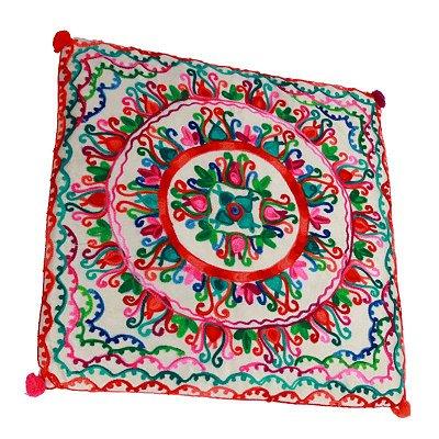 Almofada Mandala Colorida | Índia