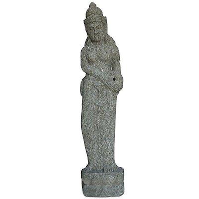 Fonte Dewi Sri em Pedra 150cm | Bali