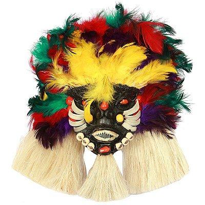 Máscara Decorativa Amazonense | 23cm