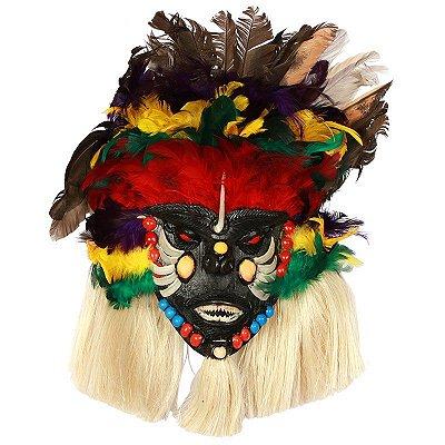 Máscara em Escama de Peixe | 30cm