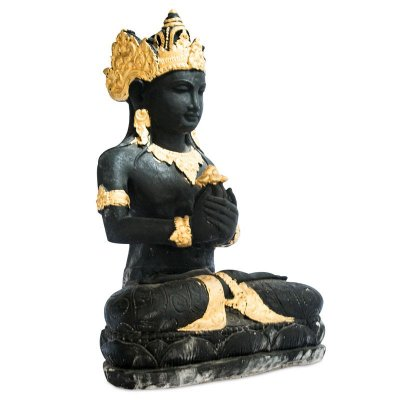 Escultura Brahma em Cimento 60cm | Bali