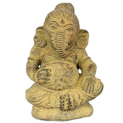 Deus Ganesh em Cimento p/ Jardim | Bali