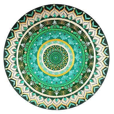 Mandala Verde 60cm | Chakra Cardíaco