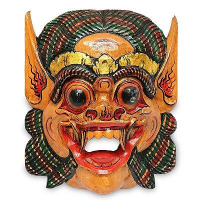 Máscara Barong Bali 35cm - 4 Cores