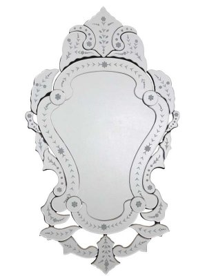 Espelho Veneziano para Decoração Vintage - 113x66cm