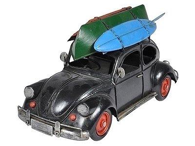 Miniatura de Carro (Fusca) Surf em Metal 18x33cm