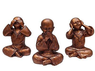 Trio de Monges Budistas (Cego, Surdo e Mudo)