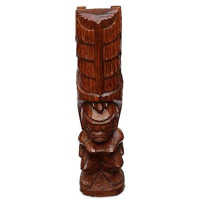 Escultura Tiki em Madeira 30cm - Bali