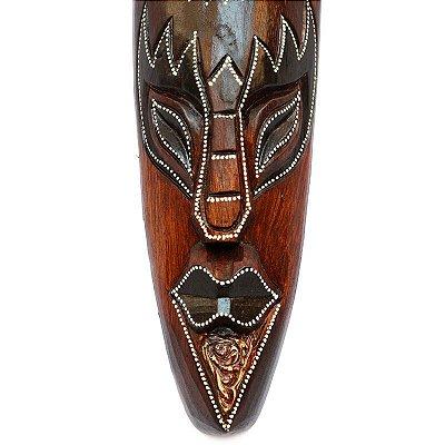 Máscara em Madeira Pássaro 50cm - Bali