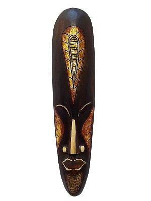 Máscara Artesanal em Madeira Bali 50cm