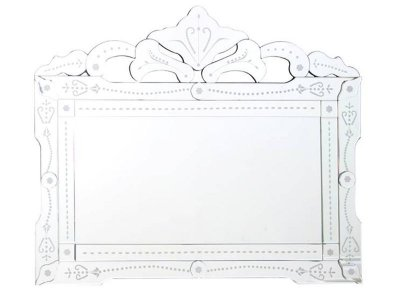 Espelho Retangular Veneziano 83x100cm