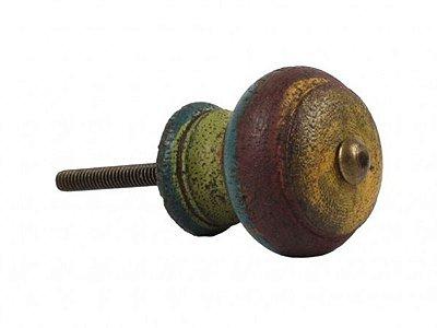 Puxador de Porta em Madeira Rústico 9x4cm