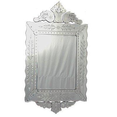 Espelho Veneziano Bisotado 121x67cm