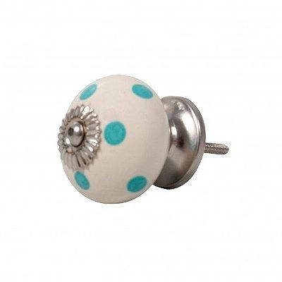 Puxador de Gaveta / Porta em Cerâmica 07cm