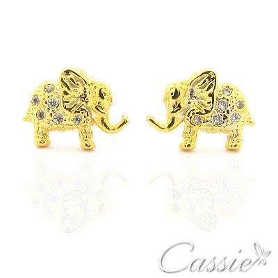 Brinco Elefante Zircônias