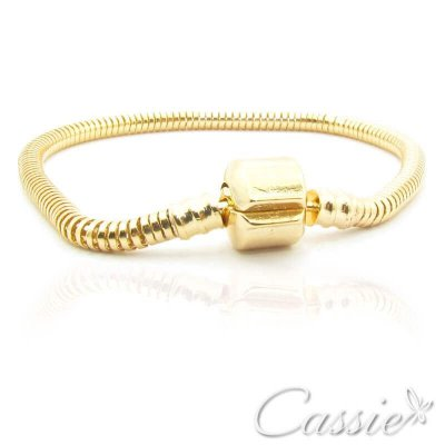Pulseira Charm Dourada