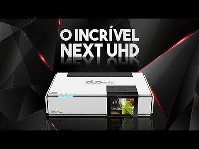 Duosat Next UHD 4K- ANDROID-VISOR AMOLED IKS-SKS-IPTV