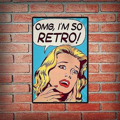 Quadro Retrô Vintage I'm So Retrô