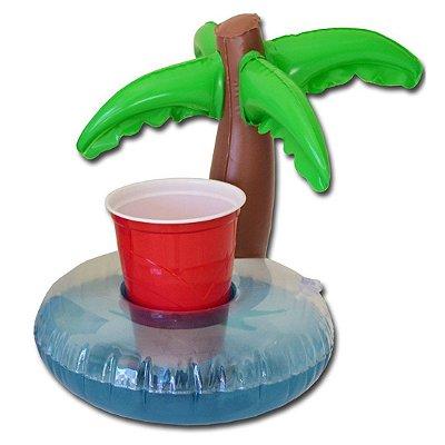 Bóia Porta Drinks e Celulares Coqueiro