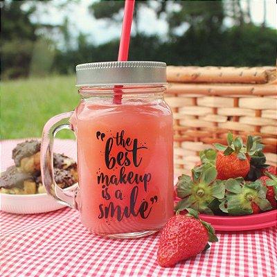 Mason Jar Smile