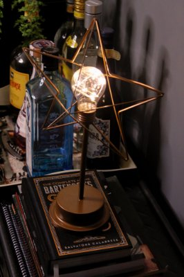 luminária de mesa decorativa
