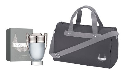 Kit Invictus Masculino 150ml + Bolsa Exclusiva