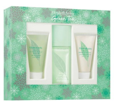 Kit Green Tea Feminino 100ml Gel de Banho e Body Lotion 100ml