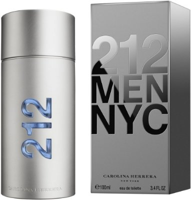 212 Masculino 100ml Carolina Herrera