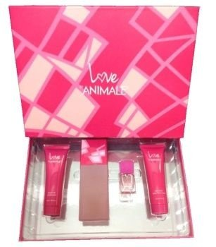 Kit Animale Love Feminino 100ml + Body Lotion + Gel + Miniatura