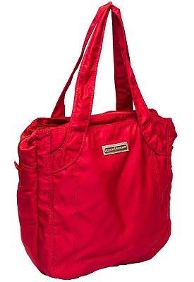 Bolsa de nylon vermelha Treino