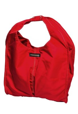 Bolsa de tecido nylon vermelha Oca