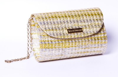 Clutch de Palha dourada Fat