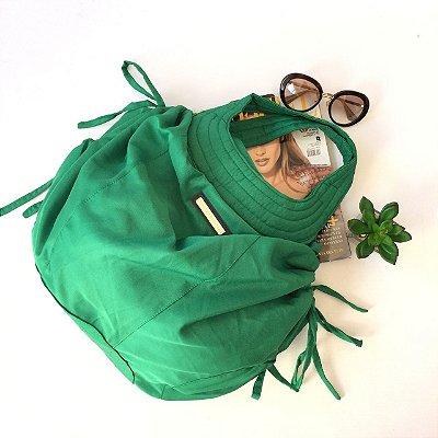 Bolsa em Nylon Verde Alvo