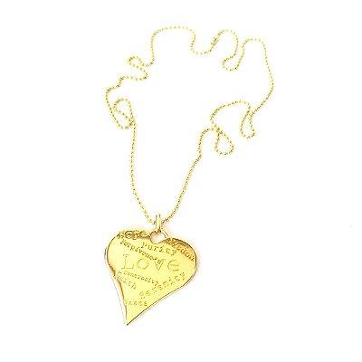 Colar Love Coração
