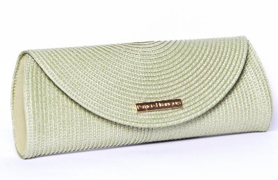 Clutch de Palha Verde Colorama