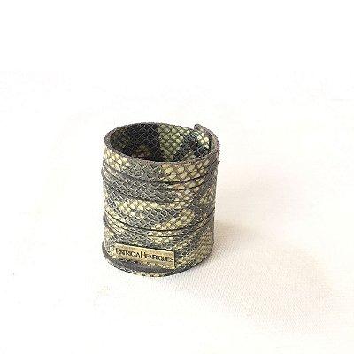Pulseira Bracelete Cobra Oliva