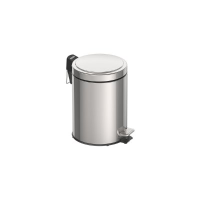 LIXEIRA ACO INOX C/PEDAL 5LT