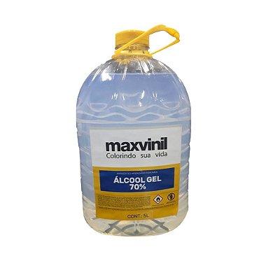 Álcool Gel 70% 5L  - Maxvinil