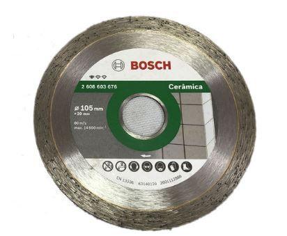 Disco Diamantado Ceramic Liso -  105mm - Bosch